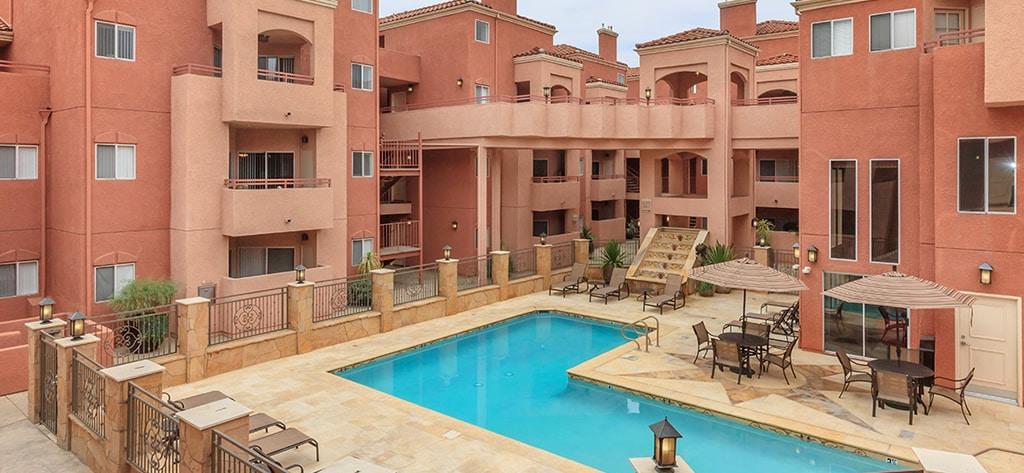 pool area Apartments for Rent CA Scott Villa
