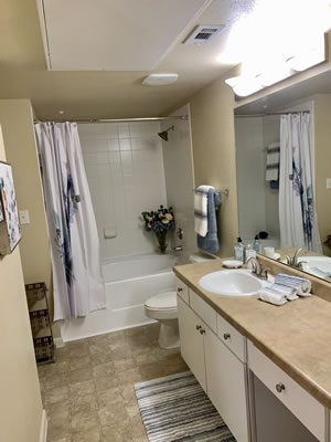 Apartments in Conroe Texas RIverwood bath