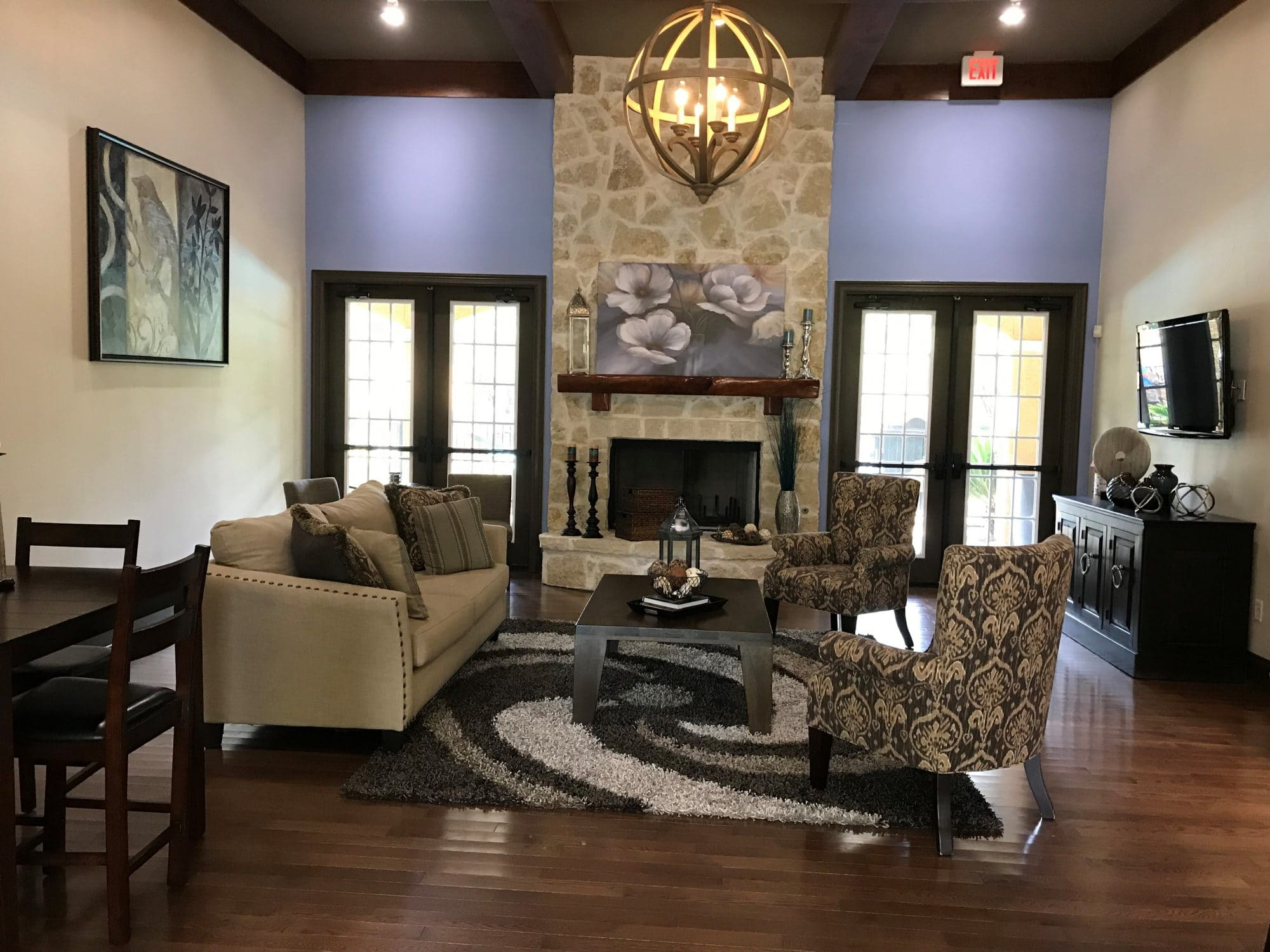 One Bedroom Apartment Rental in San Antonio, TX living